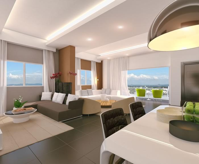 Sendero del Real - sala de  estar, sala y comedor